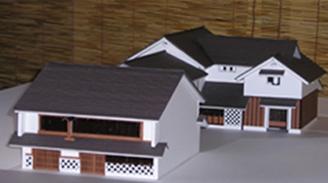 髙瀬蔵の模型①