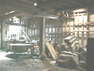 改装前の大蔵内部