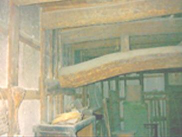 改装前の小蔵内部