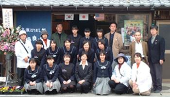 玉名女子高校の生徒たち