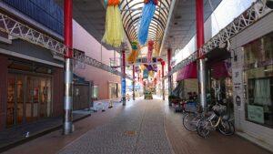 油津商店街(岩崎3丁目アーケード)